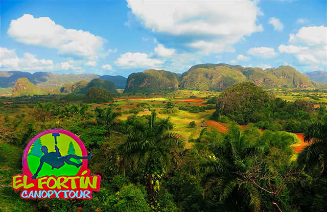 Viñales with CANOPY TOUR EL FORTIN